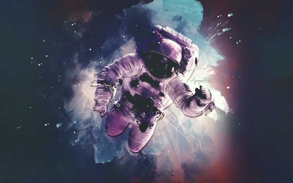 Astronaut Wallpaper By Aysegulutas