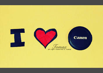 i luv canon by toOmaz