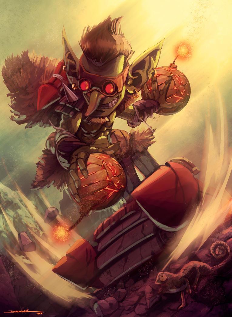 Berserker Goblin by El-Andyjack