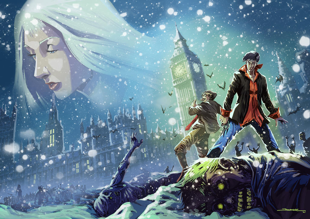 Dylan Dog Cover by El-Andyjack