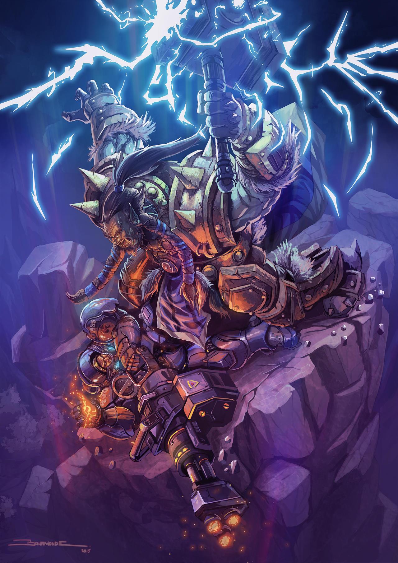 Skill duel by El-Andyjack