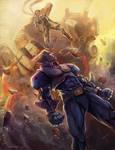 CAPCOM FIGHTING TRIBUTE: CAPTAIN COMMANDO vs JIN