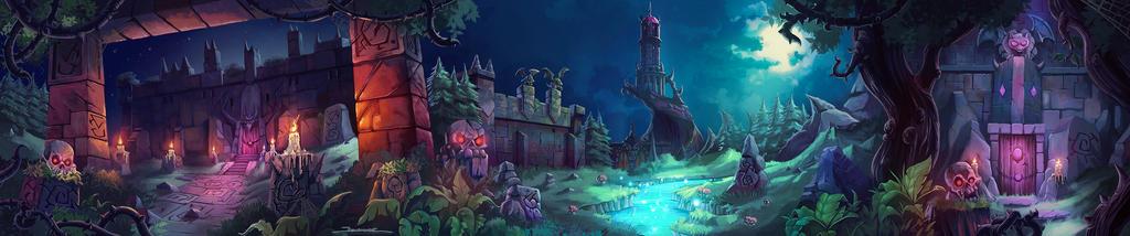 Super Dungeon Explore Environment 01 by El-Andyjack