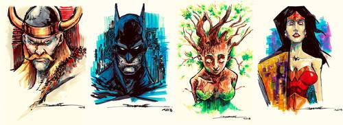 Sketches batch 1 by El-Andyjack
