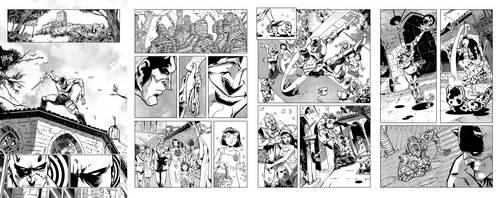 more DAREDEVIL test pages by El-Andyjack