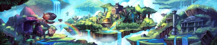 Super Dungeon Explore Background 08 by El-Andyjack