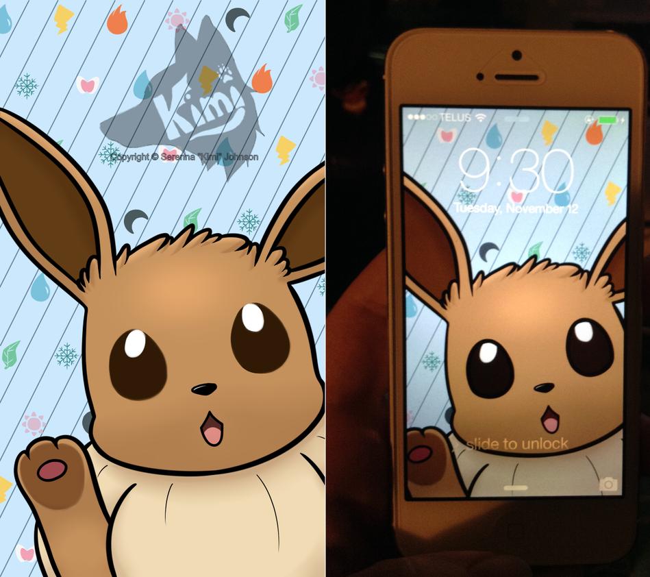 Eevee Wallpaper: Eevee IPhone 5 Background By Kimi133 On DeviantArt