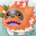 Zigzagoon Winter Icon