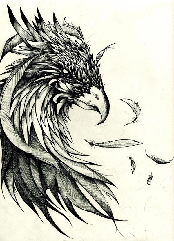 Phoenix by PhantomSeptember on DeviantArt