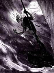Melkor by PhantomSeptember