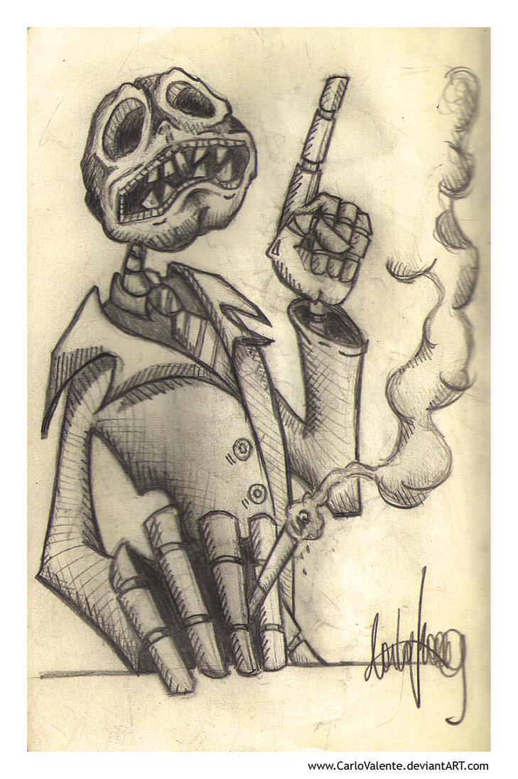 Otherworld Manager - Sketch by CarloValente