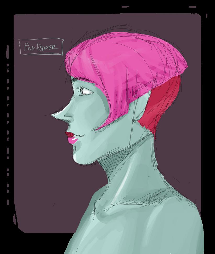 pink pepper by XElppaenipX