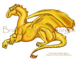 Pern Dragon Iolath: Redone by Nako