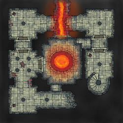 The Dungeon Below by 8bitnoise