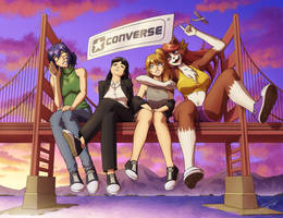 Colossal Converse Cuties by ZeroHour99