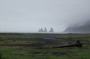 Reynisdrangar by Barbari0069