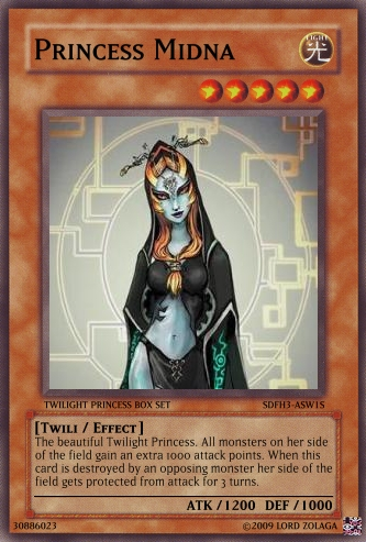 Princess Midna Card by ZolagaRamora