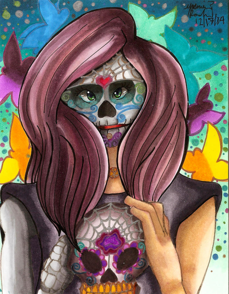 Sugar Skull by Xxhot-mindsxX85