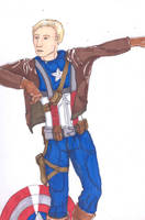 Captain America Unfinished by rl2wAters