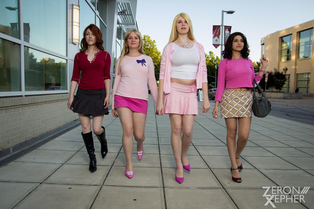Mean Girls by donttouchmymilk