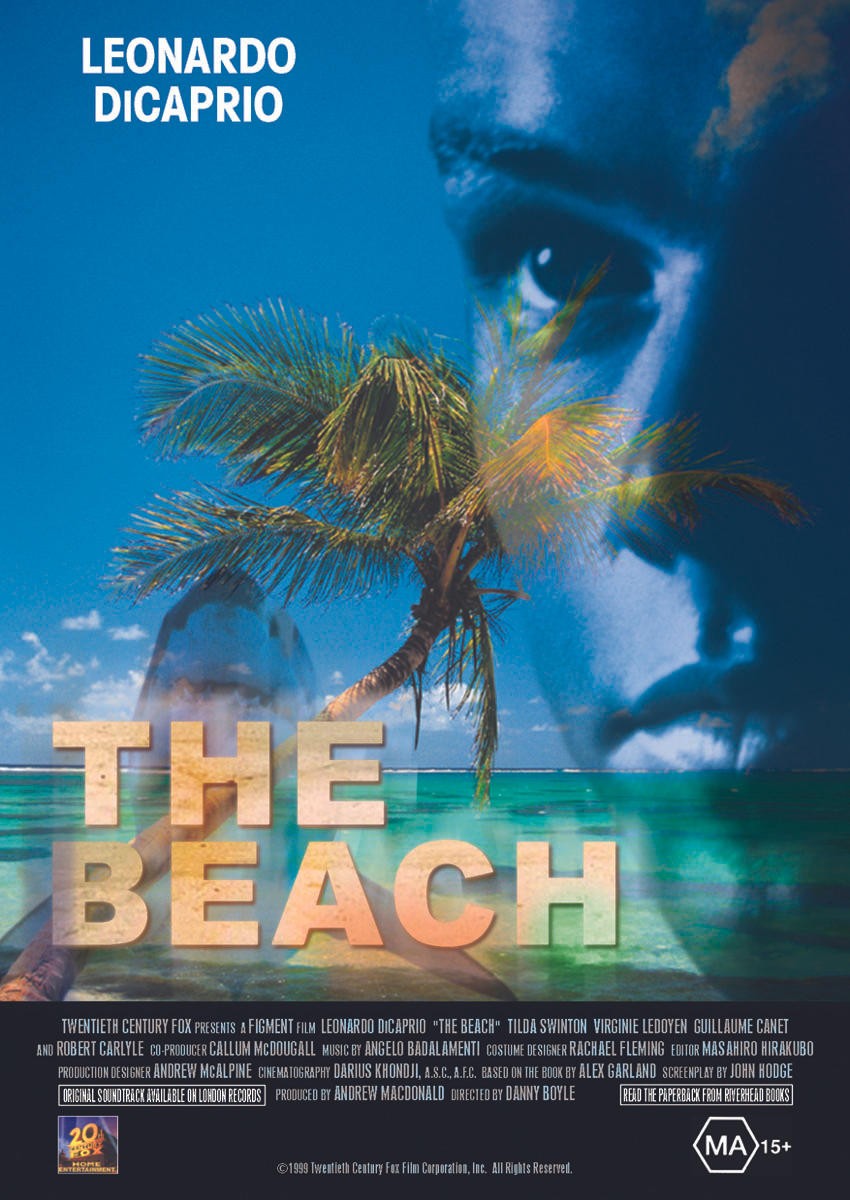The Beach - Movie Poster by altan8 on DeviantArt