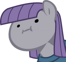 Maud Pie wut face by nano23823