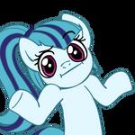 Sonata Dusk pony shrug