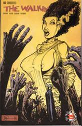 Bride of the Walking Dead Comic Cover by Axebone