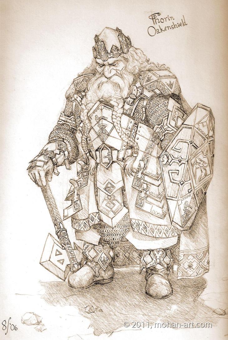 Thorin Oakenshield by TurnerMohan