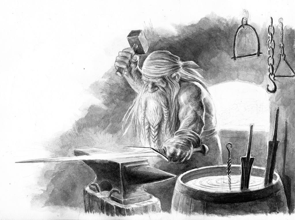 Dwarven Smith by TurnerMohan