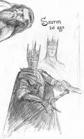 Sauron2 (1st Age) by TurnerMohan