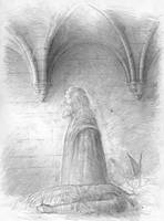 Denethor, son of Ecthelion (sketch for a painting) by TurnerMohan