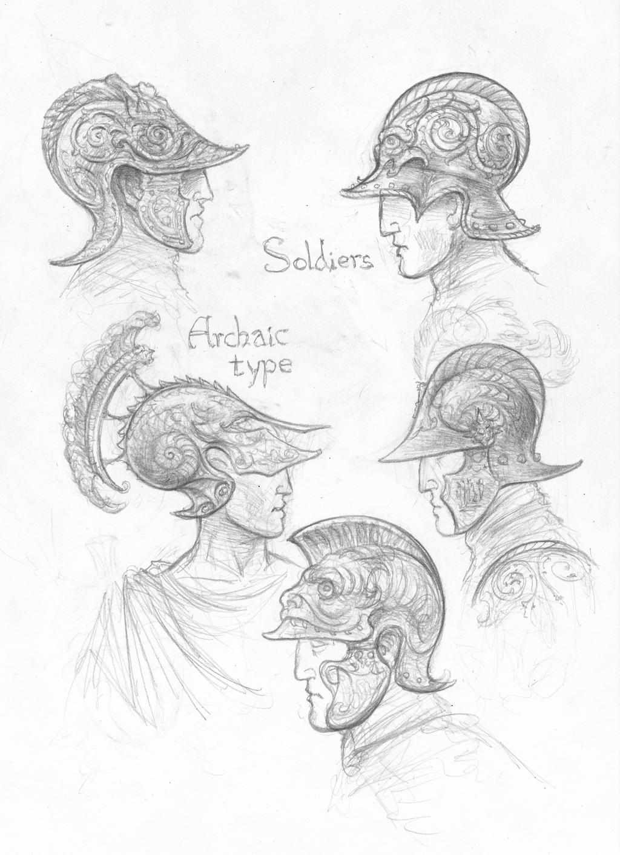 Numenorean helmets