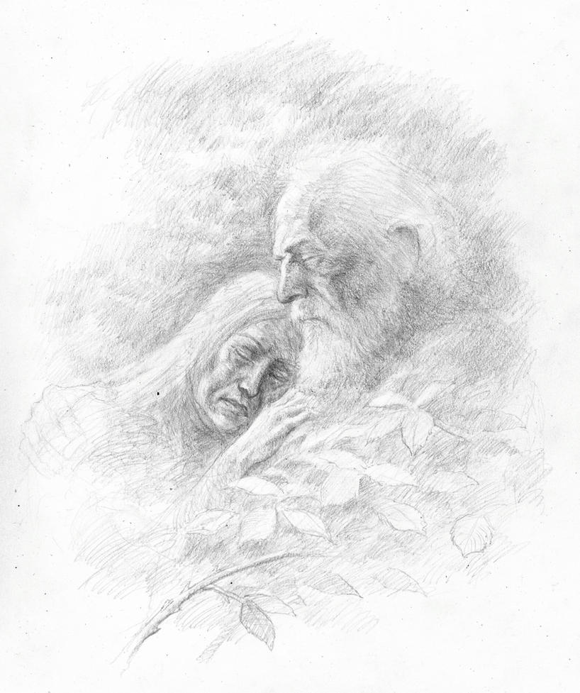 Beren and Luthien by TurnerMohan