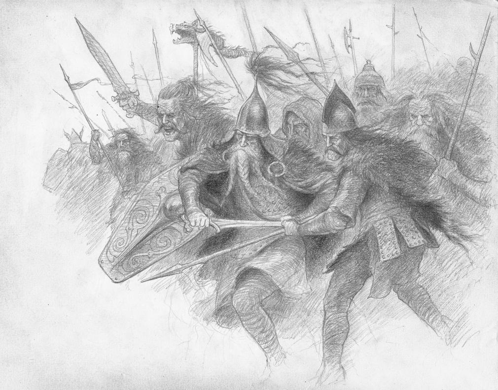 Men of Dunland by TurnerMohan