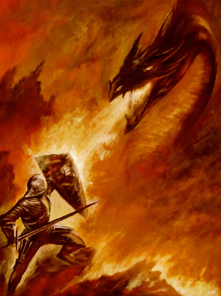 beowulf dragon essays