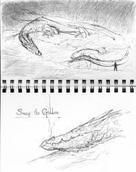 Smaug sketches