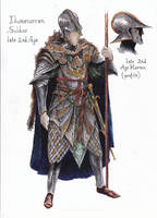Numenorean Armor 2 Color by TurnerMohan