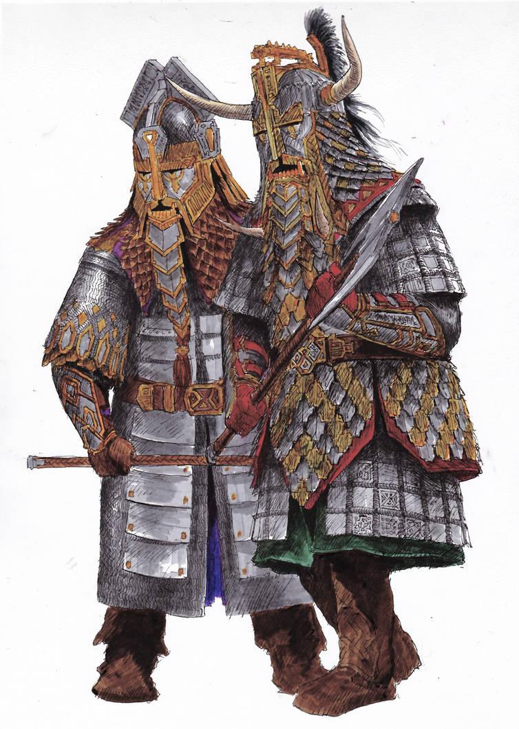 Dwarvish Armor by TurnerMohan
