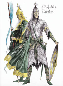 Glorfindel and Ecthelion