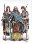 Haleth and guardswomen