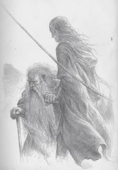 Legolas and Gimli depart