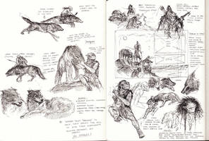 Goblins And Wargs studies