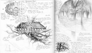 Galadriel's Hall Sketches