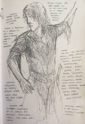 Finrod sketch by TurnerMohan