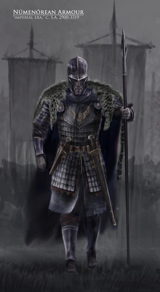 Imperial Numenorean Armour by TurnerMohan