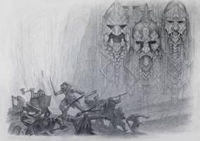 The Battle of Azanulbizar, ft. Artigas by TurnerMohan