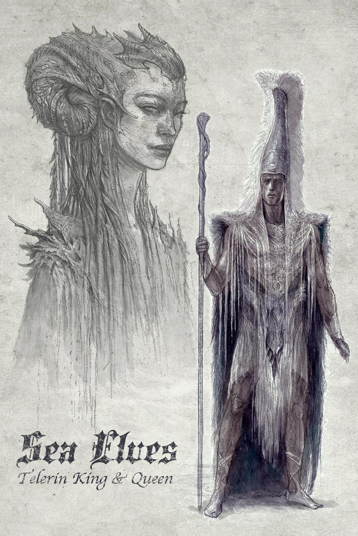 Sea Elves by TurnerMohan