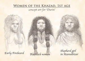 Dwarven women
