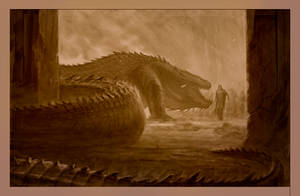 Turin confronts Glaurung